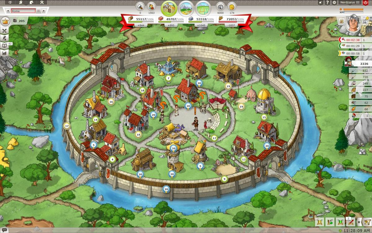 Игра Travian Kingdoms, travian kingdoms играть, travian kingdoms обзор